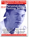 Psychemedics PDT-90 5 Panel Hair Drug Test