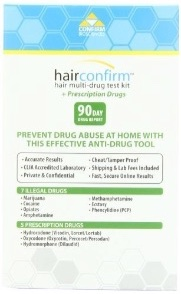 How to pass a hair follicle drug test in 2018 hairconfirm 12 drug hair test 181x295 hairconfirm12drugtestkit180x180 solutioingenieria Image collections