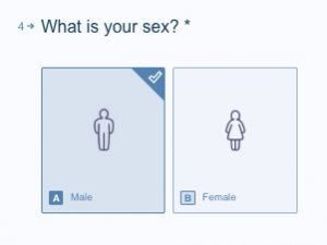 hair test calculator - what is your sex