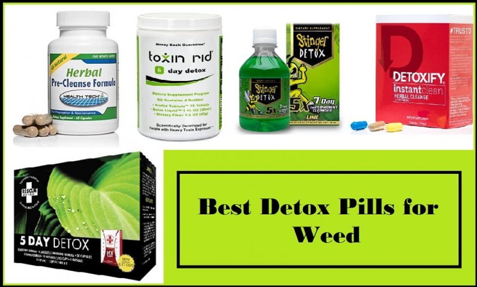 Detox Pills for Weed
